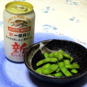居酒屋さんのようなおいしい枝豆ができました。