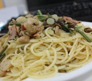 おやすみ町で働く社長の自炊blog 〜山菜ペペロンチーノ