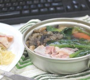 おやすみ町で働く社長の自炊blog 〜アルフレッドパスタと上小阿仁産さわもだしのスープ