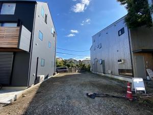 鎌倉駅徒歩6分、店舗併用住宅も可能な立地の売地。