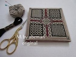 ブラックワーク刺繍 歴史と技法