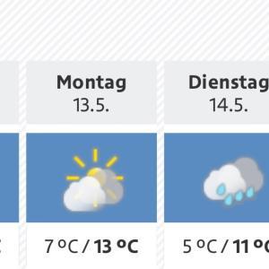 雨続きの5月(リンツ、オーストリア)