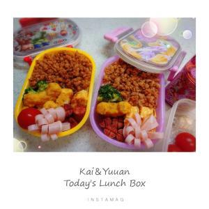 最後の幼稚園課外Dayお弁当。