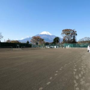 今年最後のテニス大会