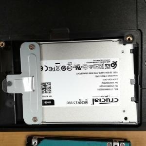パソコンのスピードアップ SSDへ交換