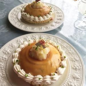 林檎のキャラメルムースパイ