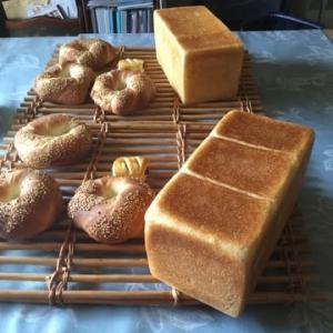 酒種の湯種食パンとスミットのレッスン