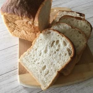 レーズン酵母ストレートで湯種食パンが美味しい❣️