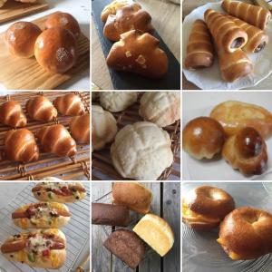夏のパン研究会は酒種酵母で9種類のパン