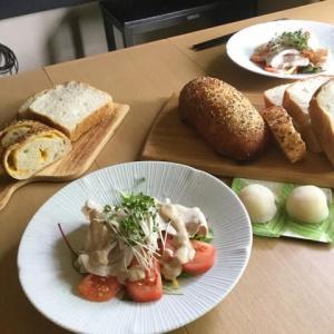 レーズン酵母ストレート湯種食パンと元種のダッチフロマージュレッスン始まりました〜