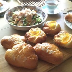 クリームパンとオレンジフロマージュブレッドのレッスン
