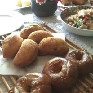 レーズン酵母のプレッツェルベーグルとカレーパンのレッスン