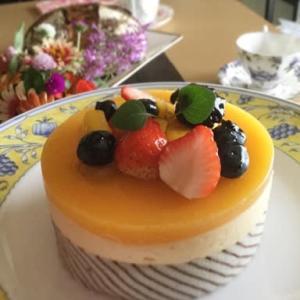 マンゴーショコラケーキのレッスン