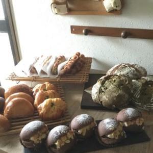 早朝パン焼き