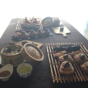 酒種の和栗モンブランデニッシュとレーズン酵母のブラックバトン