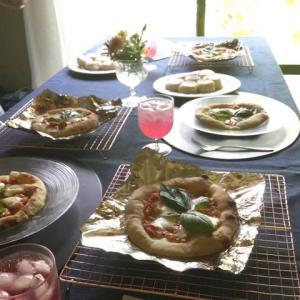 酒種酵母基本コースのピッツァとフライパン焼きパン