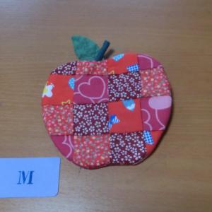リンゴのポーチ
