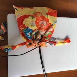和の巾着袋