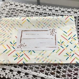 紙袋から封筒を作る
