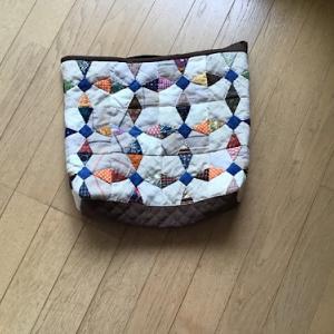 ハギレを利用のバッグ作り
