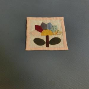 花のミニタペストリー