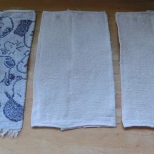 雑巾を作る