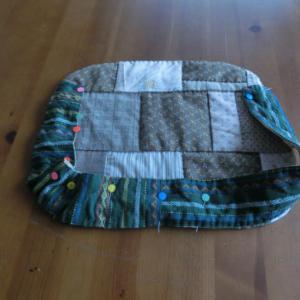 ハギレ利用のバッグ作り