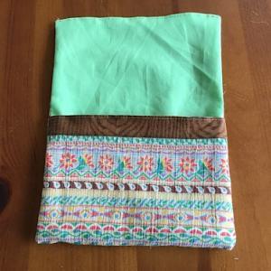 頂き物の布で作る