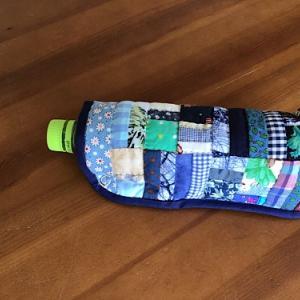 ハギレ利用のペットボトルケース