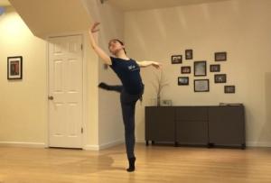 スタンフォード大学バレエ授業