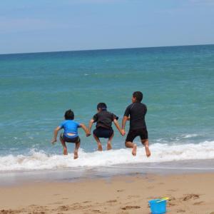 海、初体験‼️