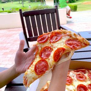 アメリカンなピザ