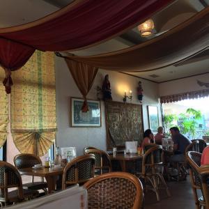 沖縄市プラザハウス内にあるインド料理店クリシュナ