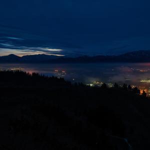 消えて行く霧