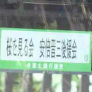首相主催「桜を見る会」もうやめた方がよい