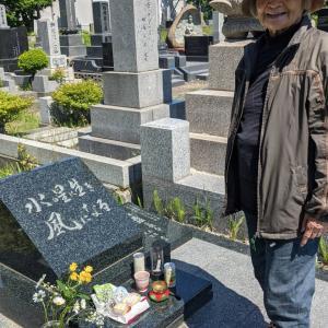 母の100歳到達祈願して藻岩登山
