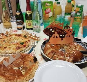仏語講座のパーティ