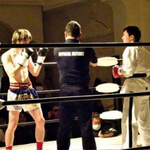 キックボクシングの試合 結果