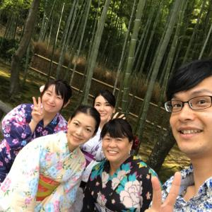 """本日   似合う浴衣撮影会☆京都パワースポット散策"""""""