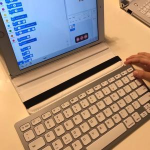 iPadとblutoothキーボードを買いました