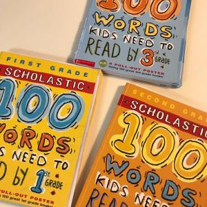 100 Words Kids Need to Read by 3rd Grade 終わり