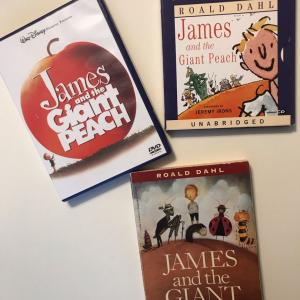 夏休みの英語 その1:James and the Giant Peach / Roald Dahl