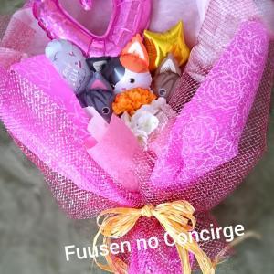 花束タイプのバルーンギフト