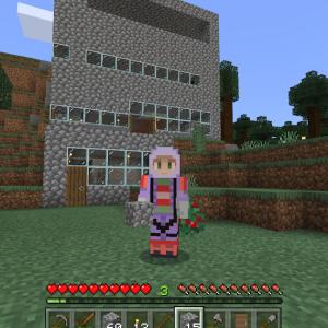 フレンドさんの新しいワールドに出張してきました?!(^o^)/(Minecraft , Xbox One)