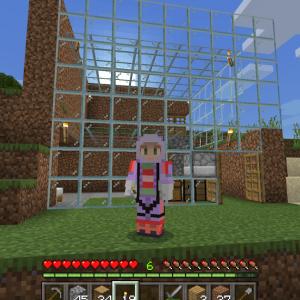フレンドさんの新しいワールドにまたまた出張してきました?!(;´・ω・)(Minecraft , Xbox One)