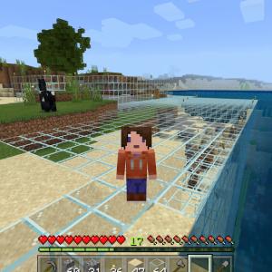 微妙にカワイくなった?統合版V1.13から追加のキャラクタークリエイター機能を使ってみた?!その2 (*´▽`*)(Minecraft , Xbox One)