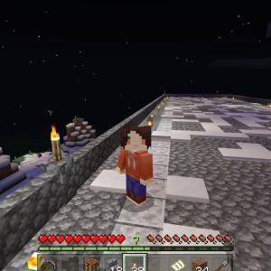 フレンドさんちに出張工事?しております?!(o^―^o)(Minecraft , Xbox One)
