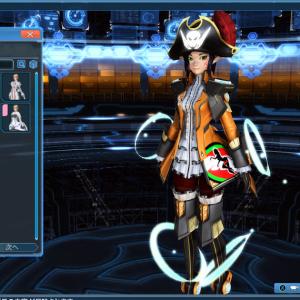 ACスクラッチ回さず衣装をゲット?ミッションパスでジェンダーピラートをゲット?!(*´▽`*)(Phantasy Star Online 2 NA)