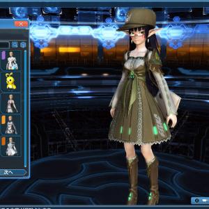 日本版とは違う?グローバル版ミッションパスで衣装エスティリカをゲット!(*´▽`*)(Phantasy Star Online 2 global ,PSO2NA)