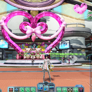 グローバル版では一足早くValentine Day?!(^_^;)(Phantasy Star Online 2,PSO2global)
